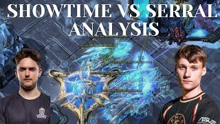 Serral vs Showtime  | Analysis |  AIRTOSS vs Lurker Corruptor