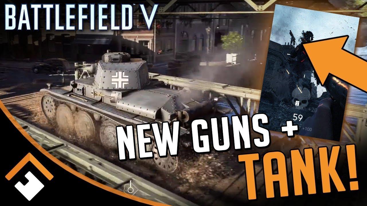 MASSIVE BF5 INFO DROP! New Guns, Tank, Maps + More Confirmed for Battlefield V