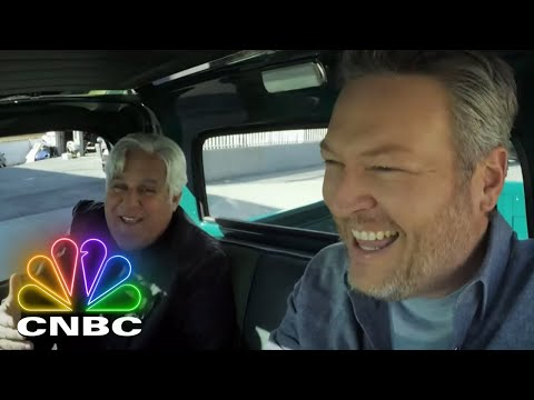 Blake Shelton Takes Jay Leno For A Ride In A GMC Pickup Truck | Jay Leno's Garage