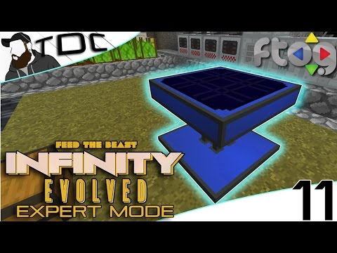 MINECRAFT MODS FTB Infinity Evolved   ADVANCED SOLAR PANELS!   Episode 11 (EXPERT MODE FTOG SMP)