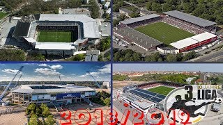 3. Liga Stadien 2018/2019