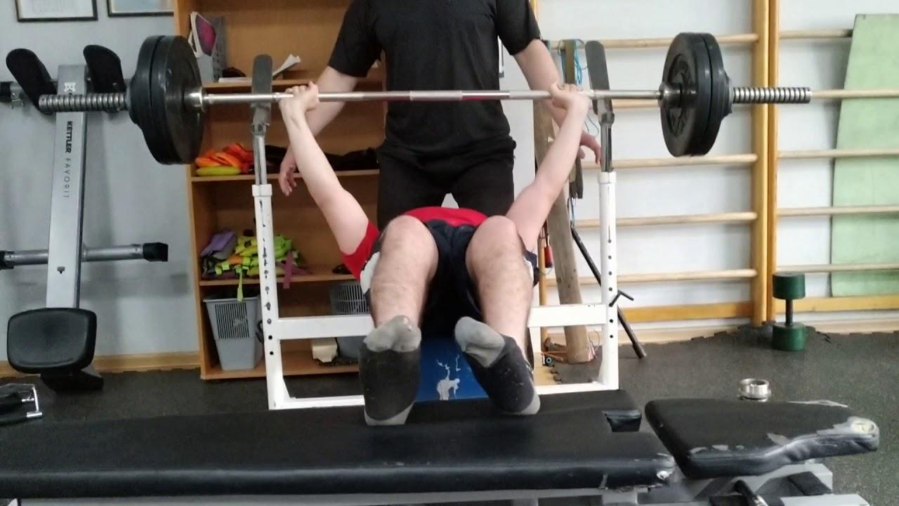 Crazy Pause Raw Bench Press Paralympic Bench Press Para