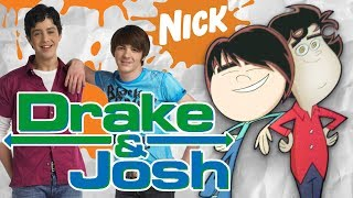 Live Action Nickelodeon Shows AS CARTOONS (Drake & Josh, iCarly and more!)
