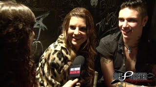 Andy Biersack & Juliet Simms Interview with Rock Forever Magazine