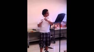 Spanish Folk Song on flute