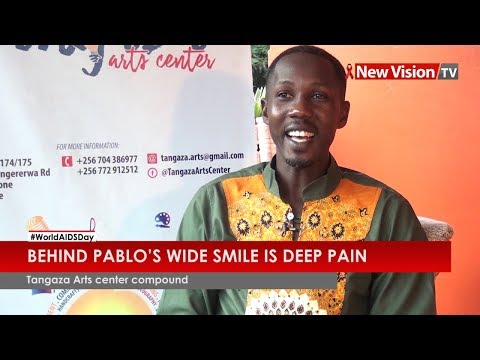 Behind Pablo's wide smile is pain