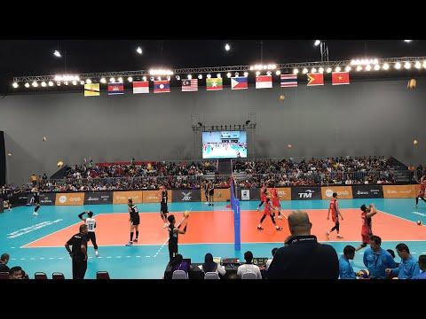 Volleyball Sea Games 2017 Grand Final Ina Vs Thai Men Jpevolley