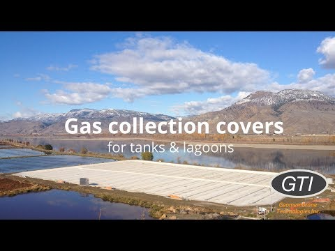 Biogas Collection Covers for Wastewater Tanks & Lagoons