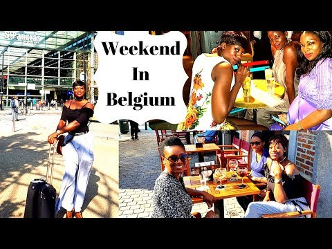 Weekend In Belgium | London to Brussels by train | Interracial wedding