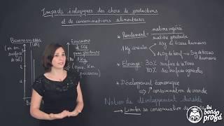 Impacts écologiques des choix de productions et de consommations alimentaires