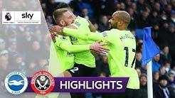 Aufsteiger bleibt auswärts unantastbar | Brighton - Sheffield 0:1 | Highlights - Premier League