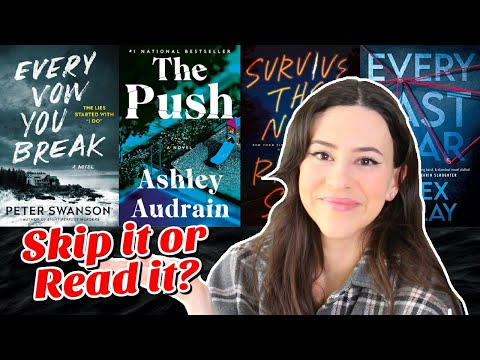 2021 Mystery Thriller Book Reviews || Skip It or Read It?