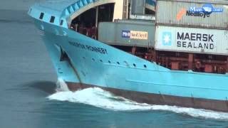 MERCHANT NAVY MAERSK RONNEBY CARGO SHIP VIDEO