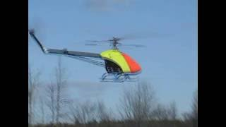 Maxi Joker RC Biggest electric helicopter -  Flight Test