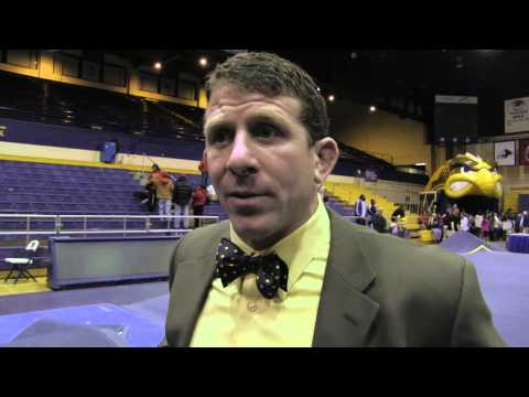 Kent State Beauty and the Beast - Wrestling Coach Jim Andrassy