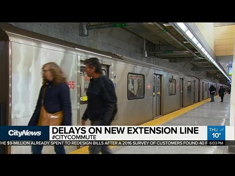 Riders complain of delays on new subway extension