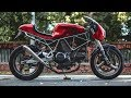 Kaspeed Custom Motorcycles Goes Café Racer With a Ducati 750 SS