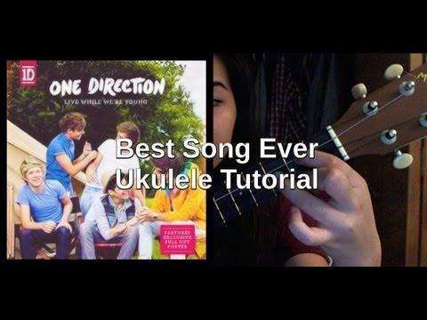 Best Song Ever One Direction Ukulele Tutorial