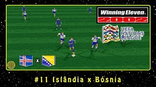 Winning Eleven 2002: UEFA Nations League (PS1) #11 Islândia x Bósnia