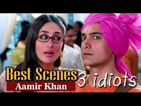 Best Scenes Of Aamir Khan From 3 Idiots | R. Madhavan, Sharman Joshi