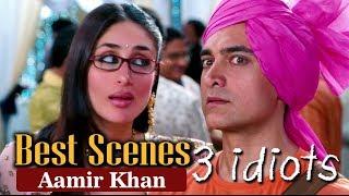 Best Scenes Of Aamir Khan From 3 Idiots   R. Madhavan, Sharman Joshi