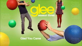 Glad You Came - Glee [HD Full Studio]
