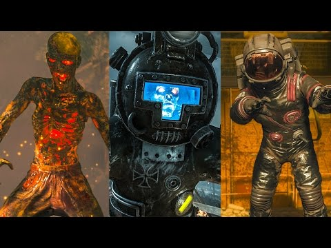 Top 5 Maps in ZOMBIES CHRONICLES DLC 5 ~ Black Ops 3 Zombies