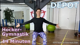 DEPOT Hockergymnastik