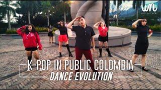 [KPOP IN PUBLIC COLOMBIA] Kpop Dance Evolution
