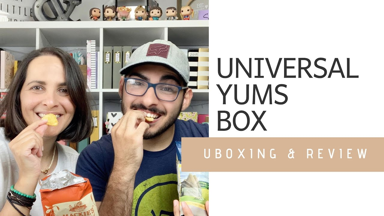 Universal Yums Snack Box | Unboxing & Review 2020