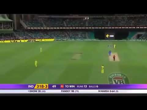 IND Vs AUS Final Over Thrilling Drama .