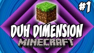 Minecraft: D Dimension | Ep.1, Dumb and Dumber