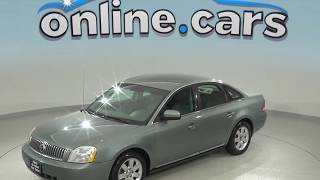 A99185DT Used 2006 Mercury Montego Luxury FWD 4D Sedan Green Test Drive, Review, For Sale