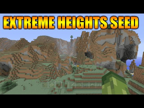 ★Minecraft Xbox 360 + PS3: Extreme Heights Seed - Blacksmith + Huge Jungle Biome★