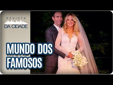 Casamento De Ticiane Pinheiro E César Tralli E Marina Ruy Barbosa- Revista Da Cidade (04/12/2017)