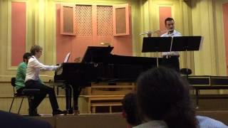 """Andrés Benavides - """"Caño Cristales"""", Un premier mouvement pour Flûte et Piano"""