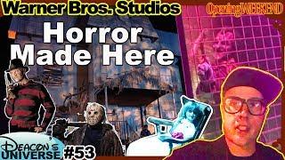 Horror Made Here at Warner Bros. Studios. Opening Weekend 2018