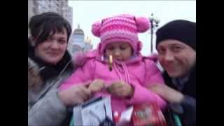 Заради мрії української онкохворої дівчинки герой серіалу 'Воронины' прилетів в Україну