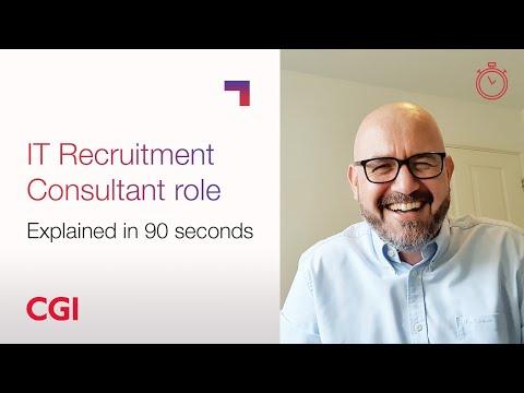 CGI Careers: Roles explained in 90 seconds – IT Recruitment Consultant