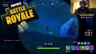 I CAN NOT SNIPE In Fortnite: Battle Royale - Fortnite Battle Royale Live #1