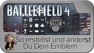 Battlefield 4 Emblem erstellen und verändern