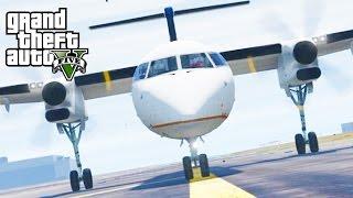 GTA 5 SP #38 - Dash-8 Q400 Mod
