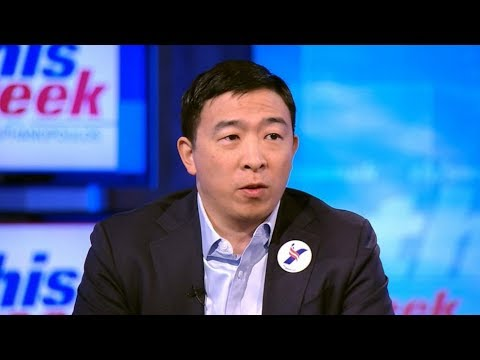 CNN Host Thinks Andrew Yang Is A Crypto White Nationalist