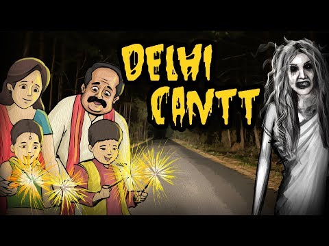 Delhi Cantt Diwali Night | Horror Story In Hindi | Khooni Monday E11 🔥🔥🔥 thumbnail
