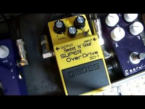Boss SD-1, Super overdrive, Sweet'n'Sour mod, Msm Workshop