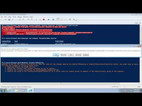 Discover PowerShell - Running Remote Commands