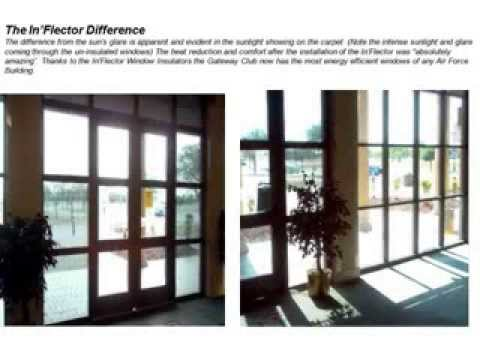 What Is An Inflector Window Insulator Youtube