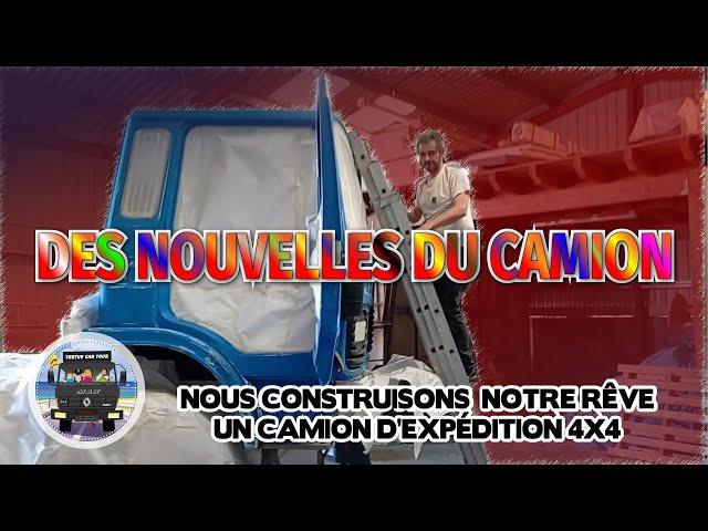 #87 - De retour sur YouTube avec la construction du camion 4x4 d'exploration