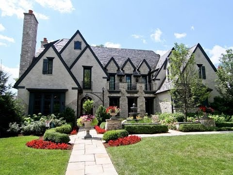 French Mansion Dream Home in Hinsdale, Illinois