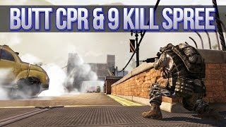 AAPG: Butt CPR & 9 Man Massacre (Americas Army Proving Grounds Multiplayer Gameplay)